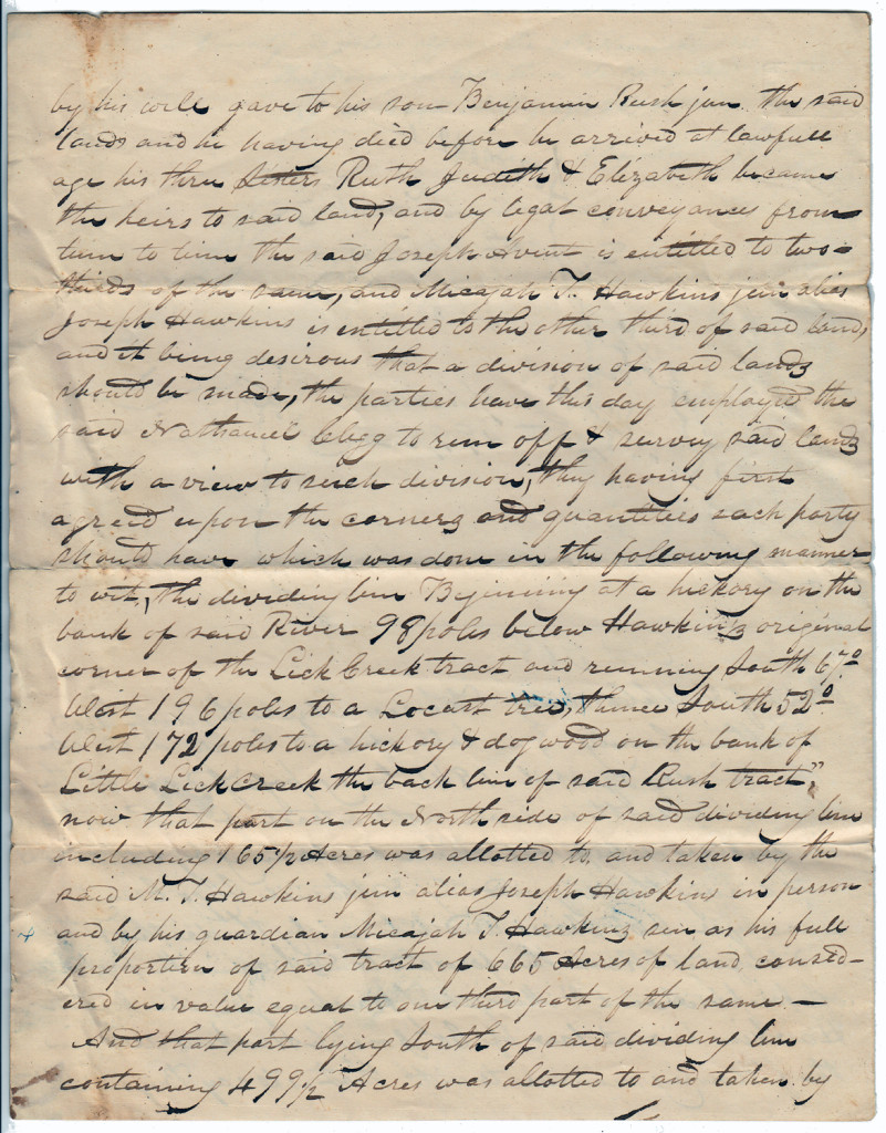 Page 2 of 1842 Division of Rush Land