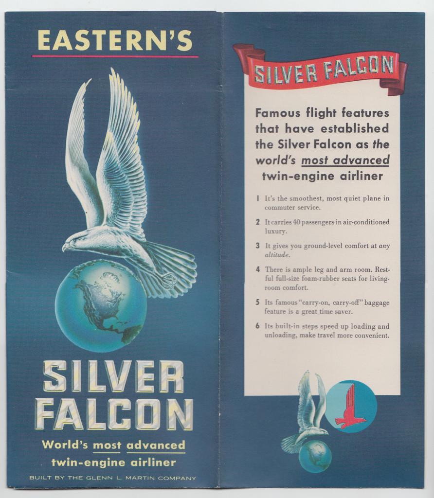Silver Falcon (front)