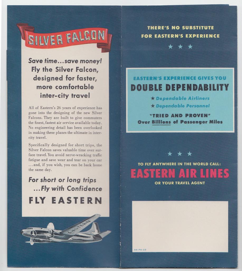 Silver Falcon (back)