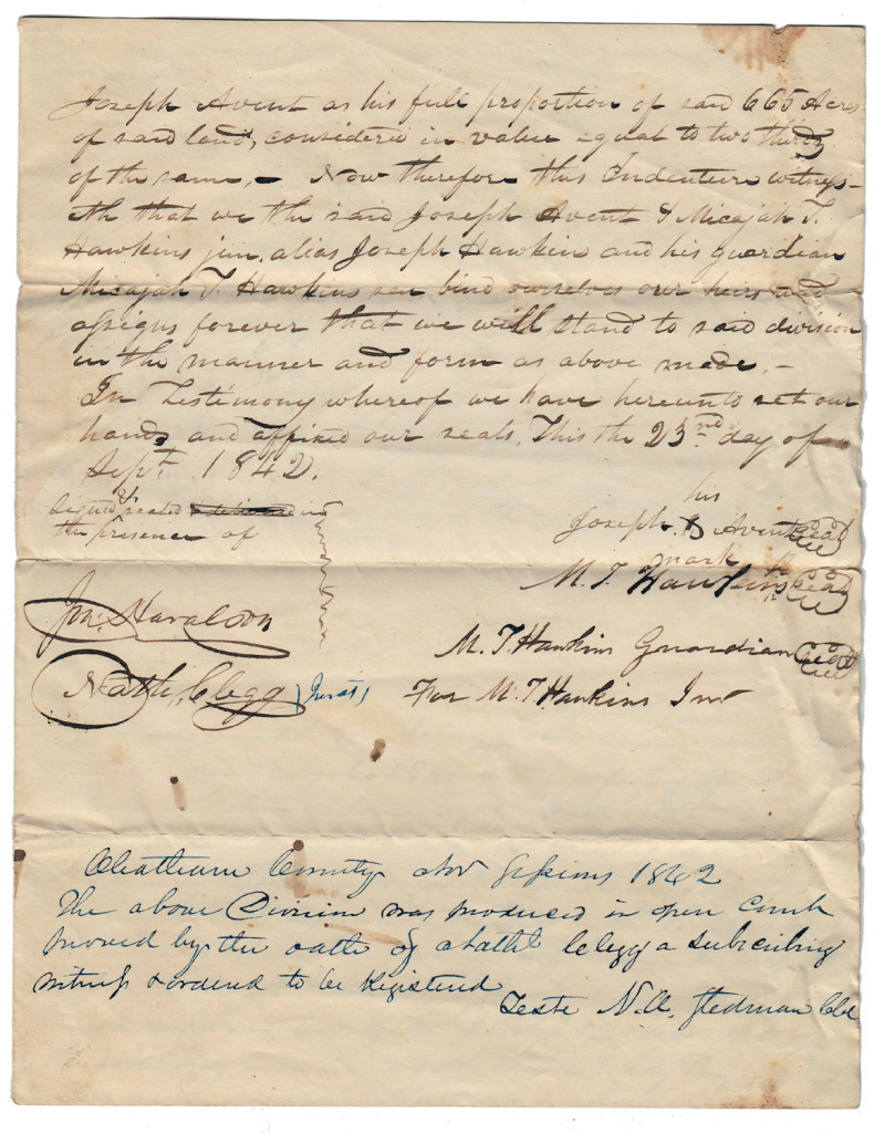 Page 3 of 1842 Division of Rush Land