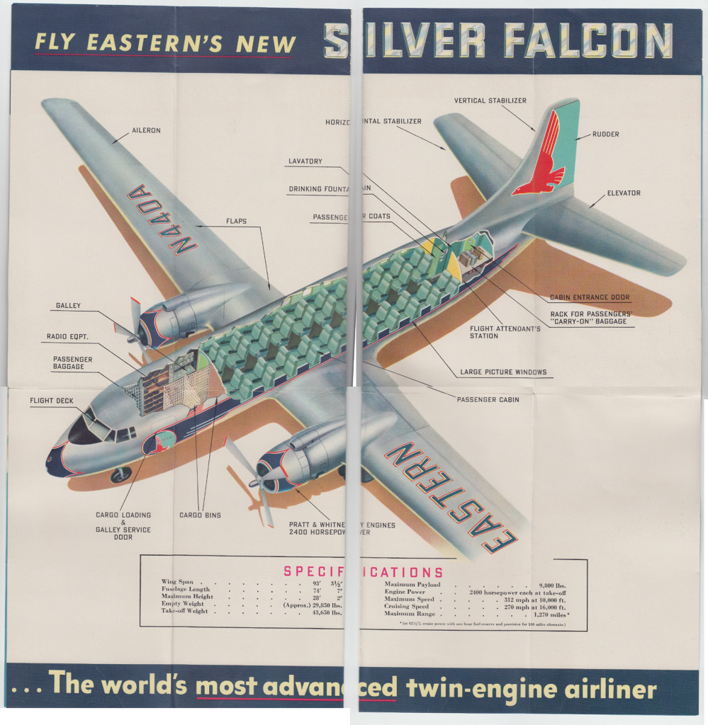 Silver Falcon (unfolded)