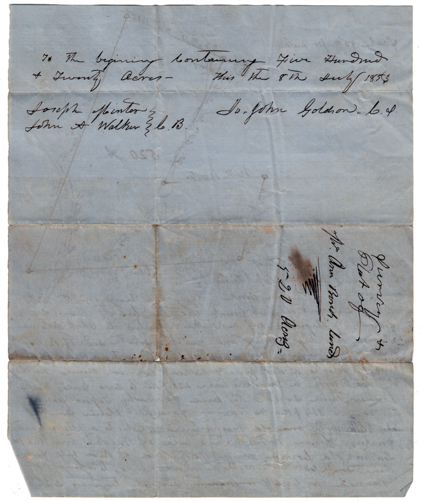 Page 2 of 1853 Land Survey