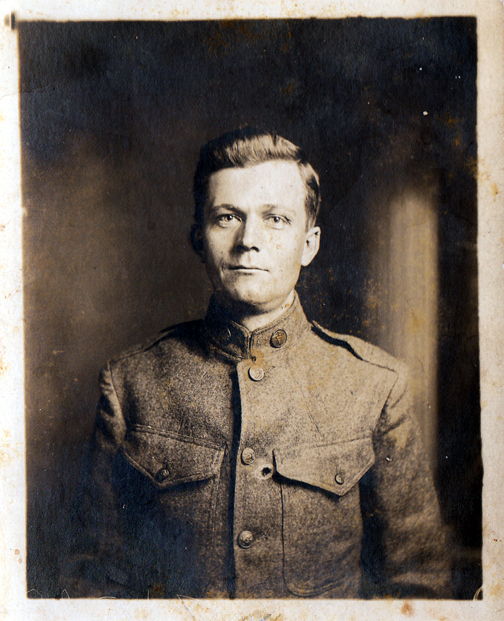 James Clyde Thomas, WWI