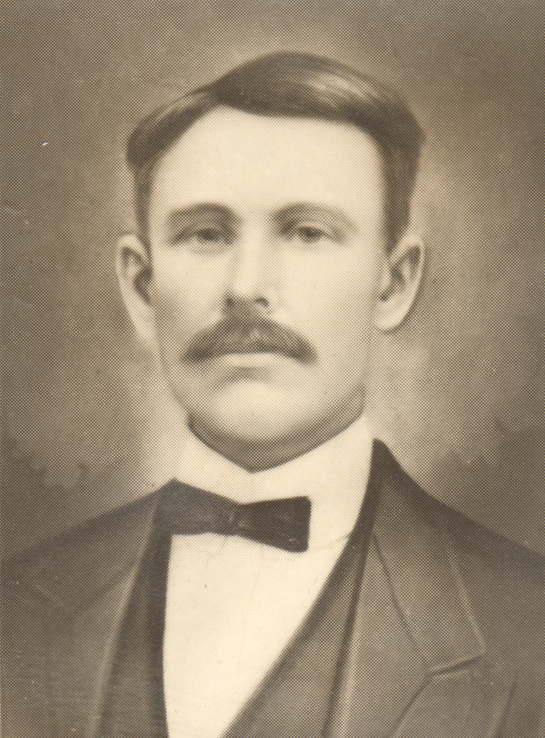 Jeremiah Bennett Yarborough (b. 4 Sept 1852, Chatham County, North Carolina; d. 19 Jan 1908, Chatham County, North Carolina)From the papers of Merry T. Pittman
