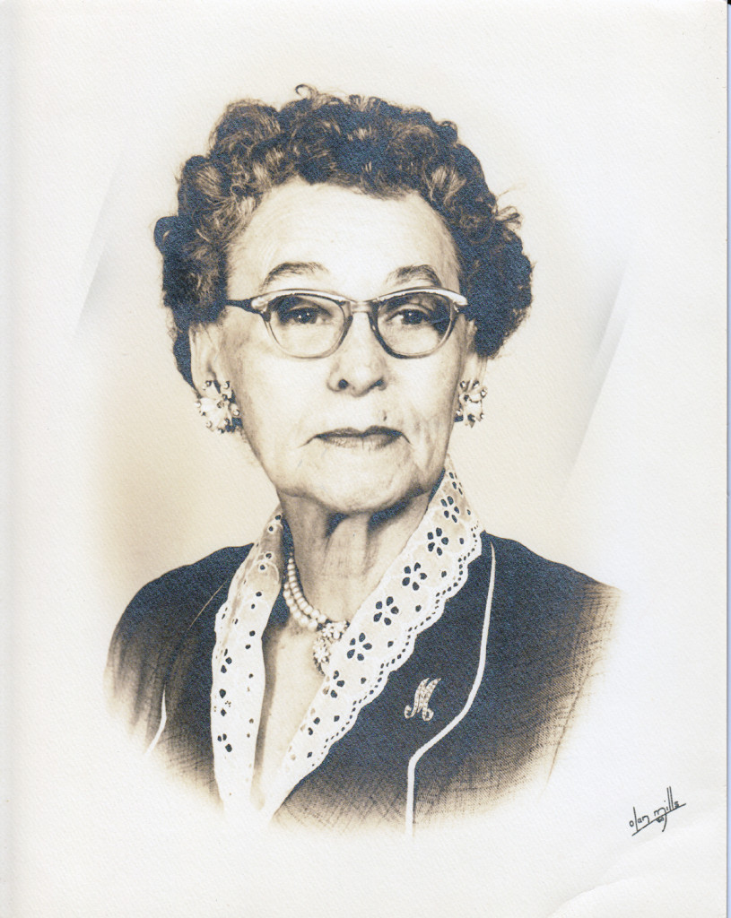 Mary Emma Yarborough, Wife of James Clyde Thomas (1960)