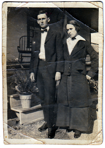 Mary Emma Yarborough and brotherFrom the Collection of Mary Yarborough Thomas